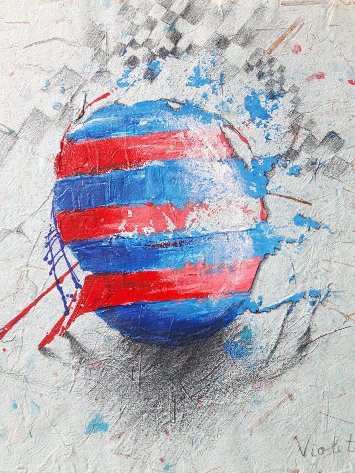 2016 Egg I 25 x 23 cm