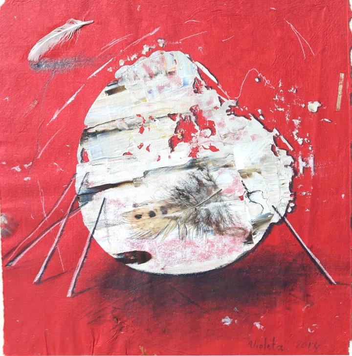 2016 Egg II 25 x 23 cm