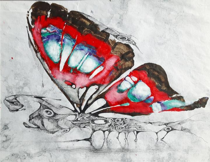 2020 Butterfly II 45 x 35 cm