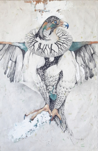 2020 Eagle 53 x 80 cm
